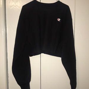 NWOT Champion Reverse Weave crop sweatshirt small